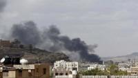 Suudi savaş uçaklarının Yemen'e yönelik saldırıları sürüyor