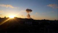 İsrail'den Gazze'ye hava topçu saldırısı