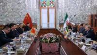 Laricani: İran meclisi Çin ile ilişkileri geliştirmeyi destekliyor