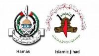 HAMAS ve İslami Cihat'tan direnişe devam vurgusu