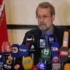 Laricani: Riyad, İran'a karşı terörist grupları kışkırtıyor
