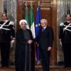 İran Cumhurbaşkanı Ruhani, Roma'ya Gitti