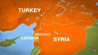 Teröristlerin temizlenmesiyle Türkiye'nin Lazkiye ile olan sınır bölgesi kapatıldı