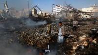 Siyonist Suud Rejiminin Yemen Halkına Saldırıları Sürüyor