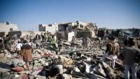 Siyonist Suudi Rejiminin Yemen'e saldırıları sürüyor
