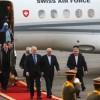 İsviçre cumhurbaşkanı Tahran'a geldi
