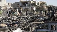 Suudi savaş uçakları, Yemen'i bombaladı