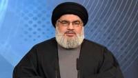 Seyyid Hasan Nasrallah: Her nerede Sünni ve Şii varsa, Suudi ve İsrail bunlar arasında çatışma çıkarmaya çalışıyor