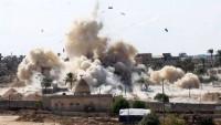 Suudi Arabistan'ın Yemen'e hava saldırıları sürüyor