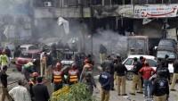 Pakistan'ın Lahor şehrinde 5 terörist öldürüldü