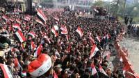 Mukteda Sadr yanlıları Kerbela'da gösteri düzenledi
