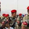 Suudi askerler İngiliz subaylar tarafından eğitiliyor