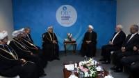 İran Cumhurbaşkanı Ruhani, bir çok ülke başkanıyla görüştü