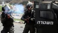 Gaspçı İsrail Rejiminin saldırısında onlarca Filistinli yaralandı