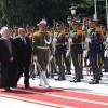 İran Cumhurbaşkanı Ruhani Güney Afrika Cumhurbaşkanına Resmi Karşılama Töreni Düzenledi