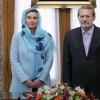 AB Dış Siyaset Sorumlusu, İran Meclis Başkanıyla görüştü