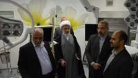 İran Kerbela'da hastane açtı