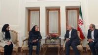 Zarif, BM Teşkilatı Enformasyon Merkezi Yeni Başkanı İle Görüştü