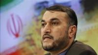 Emir Abdullahiyan: İran terörizmle mücadelede en ön saftadır