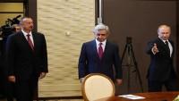 Putin, Aliyev ve Sarkisyan ile Dağlık Karabağ konusunu görüştü