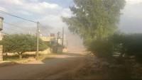 Teröristler İdlib'e havantopu saldırısı düzenledi