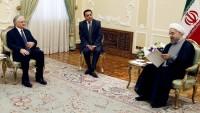 Ermenistan dışişleri bakanı, İran cumhurbaşkanı Ruhani ile görüştü