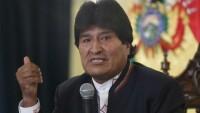 Morales'ten Maduro'ya destek