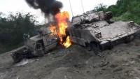Necran'da Suudi ordusu zırhlı tugay komutanı gebertildi