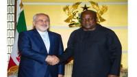 İran dışişleri bakanı Gana cumhurbaşkanıyla görüştü