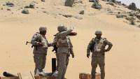 İki Suud askeri ülkenin güney batısında gebertildi