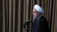 Ruhani: Dünya İran'ın halkların hukukunu çok iyi savunduğunu itiraf etti