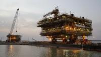 İran'ın Güney Pars Sahasında, sundaj platformu başarıyla kuruldu