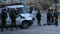 Terörist İsrail askerlerinin Filistinlileri katletme girişimleri
