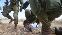 Siyonist İsrail, Gazze'ye saldırıda yüzlerce Filistinli çocuğu katletti