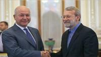 Laricani, İran'ın Irak'ta Ulusal Birlik Sürecini Desteklediğini Bildirdi