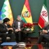 Zarif Bolivya cumhurbaşkanı ile görüştü