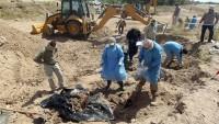 Musul'un Güneyinde toplu mezar bulundu