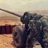 Lübnan ordusu, teröristlerin mevzilerini bombaladı