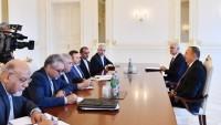 İran İletişim Bakanı Azerbaycan Cumhurbaşkanı İle Görüştü