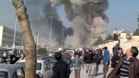 Teröristlerden Halep'te Kimyasal Saldırı