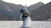 Kuzey Kore denizaltından balistik deneye hazırlanıyor