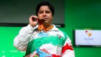 İranlı halterci altın madalya aldı
