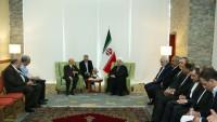 Ruhani, Cezayir meclis başkanıyla görüştü