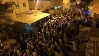 Bahreyn halkının oturma eylemi ve gösterileri devam ediyr
