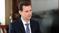 Beşar Esad: Ateşkesin bozulmasından Amerika sorumludur