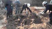 Irak'ta üç toplu mezar bulundu