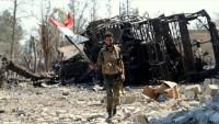 Suriye ordusunun Halep'te teröristlere karşı zaferi sürüyor