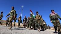 Neyneva'da 5 bin Peşmerge gücü Irak ordusuna katıldı