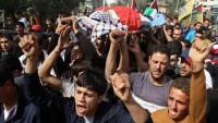 Siyonistler Filistinli bir çocuğu şehit ettiler