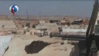 Suriye birlikleri, sahada ilerliyor